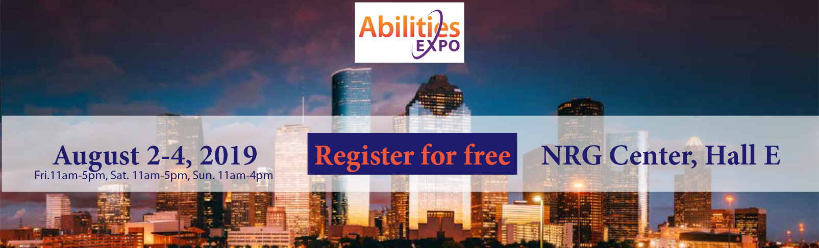 Abilities Expo August 2-4