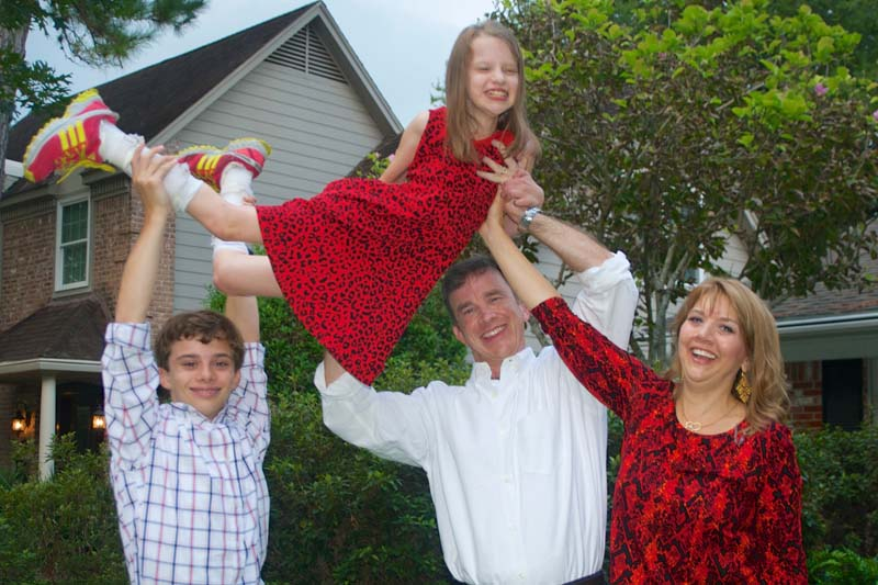 Bouchard Family - Easter Seals 3 Sept 2014