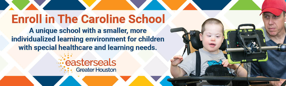 The Caroline School also incorporates our fantastic on-site Children's Therapy Clinic